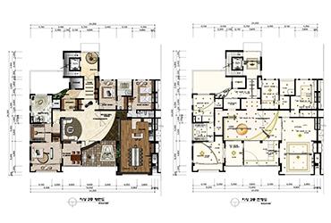 Floor plan composition of Geumdae-ri, Gapyeong