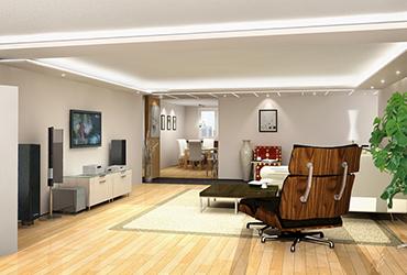 Livingroom 2 of Shin Hyundai, Apgujeong