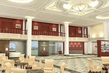 Clubhouse of Jinghua Golf Club, Beijing, China