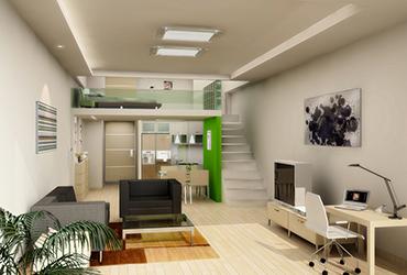 Hyundai duplex type studio flat